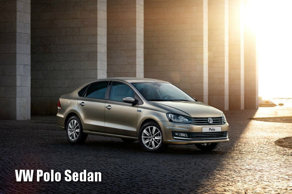 Volkswagen Polo Sedan спереди