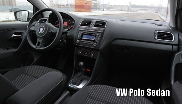 Салон Volkswagen Polo Sedan