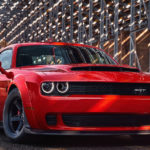 Dodge Challenger SRT Demon спереди