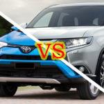 Сравнение: Тойота Рав 4 или Мицубиси Аутлендер